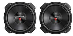 "2) Kenwood KFC-W2516PS 10"" 2600W Car Audio Subwoofers Subs P"