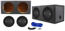 "Polk Audio MM 1242 DVC 12"" 2520w Car/Marine Subwoofers+Se"