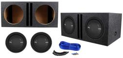 "Polk Audio MM 1242 DVC 12"" 2520w Car/Marine Subwoofers+Ve"