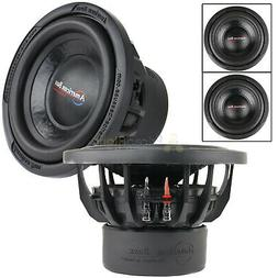 "2 Pack American Bass 10"" Subwoofer 1200W Max TNT1044 Dual 4"