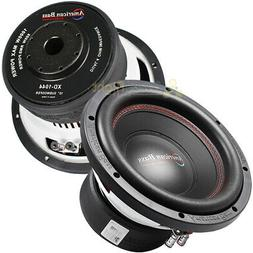 2 pack 10 subwoofers dual 4 ohm