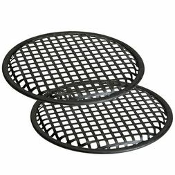 """2 PACK 8"""" INCH GRILL WAFFLE SPEAKER SUB WOOFER SPEAKER GRILL"""