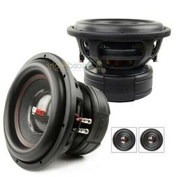 2 Pack DS18 EXL-XXB12.2D 12 Inch Subwoofer 4000 Watts Max Du