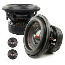 2 Pack DS18 EXL-XXB12.4D 12 Inch Subwoofer 4000 Watts Max Du