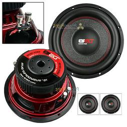 """2 Pack DS18 GEN-X104D 10"""" Inch Subwoofer 800 W Max Dual 4 Oh"""