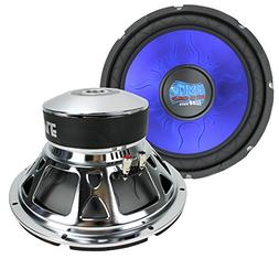 "2) PYLE PL1290BL 12"" 2400 WATT Car Subs/Subwoofers Power Woo"
