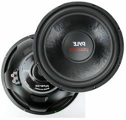 "2) New Pyle PLPW15D 15"" 2000 Watt 4-Ohm DVC Power Car Audio"
