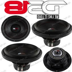"2) DS18 SLC 12S 12"" Car Subwoofer 12in 1000W Max 4 Ohm SVC 1"