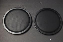 "2 Speakers cover 8"" DJ Car Speaker Steel Mesh Sub Woofer Sub"