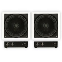 Theater Solutions TS1000 Passive 10 Home Theater In Wall 2 S