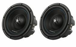 2) Hifonics TW10D4 Titan 800W 10-Inch Car Audio Subwoofers