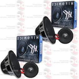 """2 x BRAND NEW HIFONICS 12"""" DUAL 4-OHM CAR AUDIO SUB WOOFERS"""