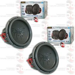 "2 x SOUNDSTREAM T5.124 12"" TARANTULA SERIES CAR DUAL 4-OHM S"