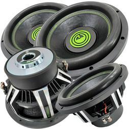2 x Warzone 15 Inch 7000 Watt Car Audio Subwoofer w/ 4 Ohm D
