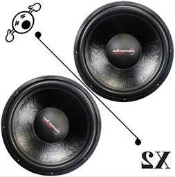 2 NEW American Bass XD1244 12 Inch 4 Ohm 2000W MAX Dual CAR