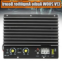 200W 12V HiFi High Subwoofer Amplifier Board Mono Amp Power