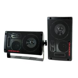 Pyramid 2060 300W 3-Way Car Audio Mini Box Speakers Indoor S