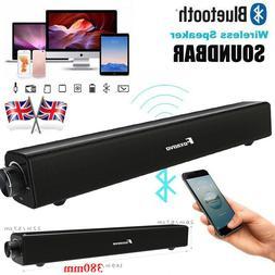 FOXNOVO 20W Smart TV Sound Bar Bluetooth Speaker Subwoofer f