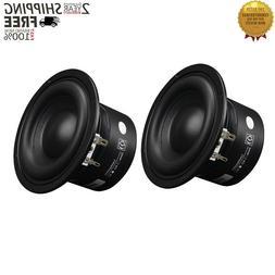 2PCS 4 Inch Woofer Speaker High Power Speaker For PC Multime