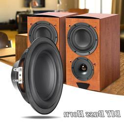 2X 6 Inch 50W 6Ω Bass DIY Horn Loudspeaker Stereo Speaker S