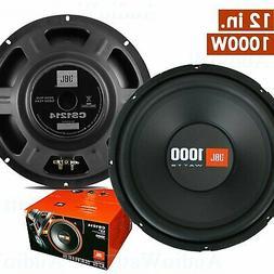 """2x JBL CS1214 12"""" 1000 Watts Car Audio Max Power Subwoofers"""