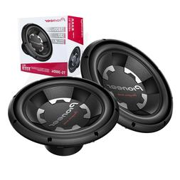 2x Pioneer TS-300D4 12 inch 2800 Watts 4-Ohm Dual Voice Coil
