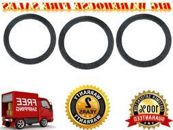 """10/"""" Black Carpeted MDF Car Stereo Speaker Woofer Subwoofer Sub Ring Spacer"""