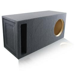 3.0 FT^3 TUNED @ 35Hz SLOT-VENTED CUSTOM MDF BOX ENCLOSURE f