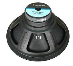 """STARAUDIO 3000W 18"""" Raw Replacement Subwoofer 8Ohm PA Stage"""