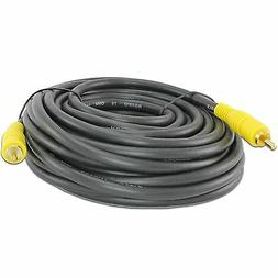 25FT FEET FOOT SINGLE RCA TV DVD VIDEO CABLE CORD SUBWOOFER