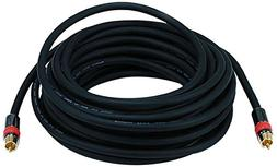35ft High-quality Coaxial Audio/Video RCA CL2 Rated Cable -