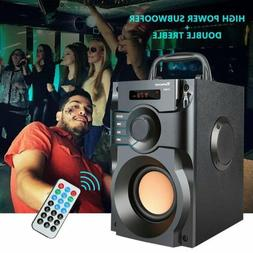 360° Surround Sound Bluetooth Speaker LCD Home 3D Stereo Su
