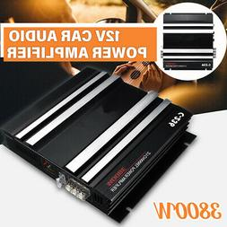3800W 2 Channel HiFi Bass Car Amplifier Board Subwoofer Ster