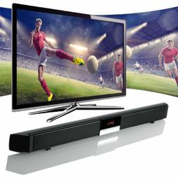 3D Surround TV Speaker Soundbar Bluetooth Wireless Home Thea