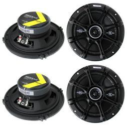 """4) Kicker 41DSC654 D-Series 6.5"""" 480 Watt 2-Way 4-Ohm Car Au"""