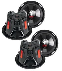"4) New BOSS AUDIO P126DVC 12"" 9200W Car Power Subwoofers Sub"