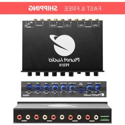 Planet Audio 4 Band Pre-Amp Equalizer w/ Remote Subwoofer Le