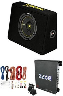 New Kicker 40TCWS102 10 600W Subwoofer Box Boss R1100M 1100W