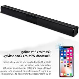 40W Bluetooth Sound Bar Speaker with Subwoofer 2.0 Channel F