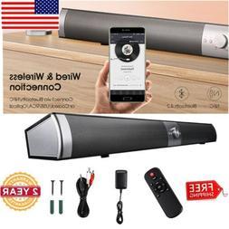 40W BT v4.2 TV Sound Bar Home Speaker Soundbar Subwoofer Coa