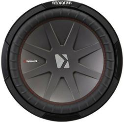 """KICKER 43CWR122 CAR AUDIO STEREO 12"""" COMPR SUBWOOFER/SUB WOO"""