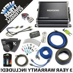 Kicker 43CXA6001 Car Audio Sub Amp CXA600.1 w/ Bass Remote &