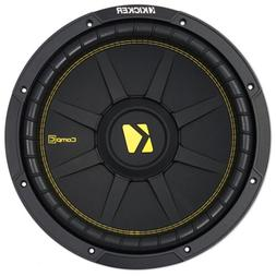 "KICKER 44CWCD124 CompC 12"" 600 Watt Dual 4-Ohm Car Audio Sub"