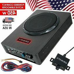 Gravity 450 Watt Car Audio Compact Under Seat Slim Powered S