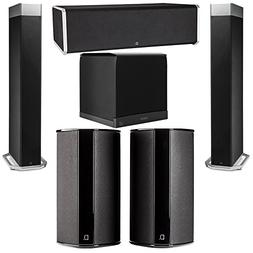 Definitive Technology 5.1 System with 2 BP9080X Tower Speake