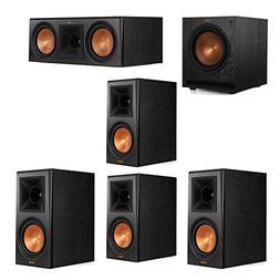 Klipsch 5.1 System with 2 RP-600M Bookshelf Speakers, 1 Klip
