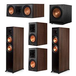 Klipsch 5.1 Walnut System 2 RP-6000F Floorstanding Speakers,