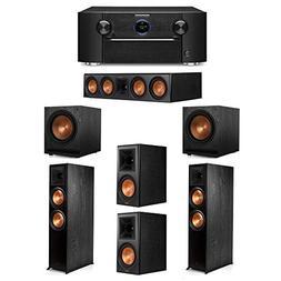 Klipsch 5.2 System with 2 RP-8000F Floorstanding Speakers, 1
