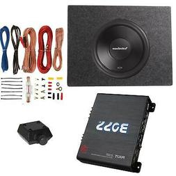 Rockford Fosgate 500W Subwoofer + Q Power Truck Enclosure +