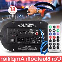 50W Car bluetooth Subwoofer Hi-Fi Bass Amplifier Board Audio